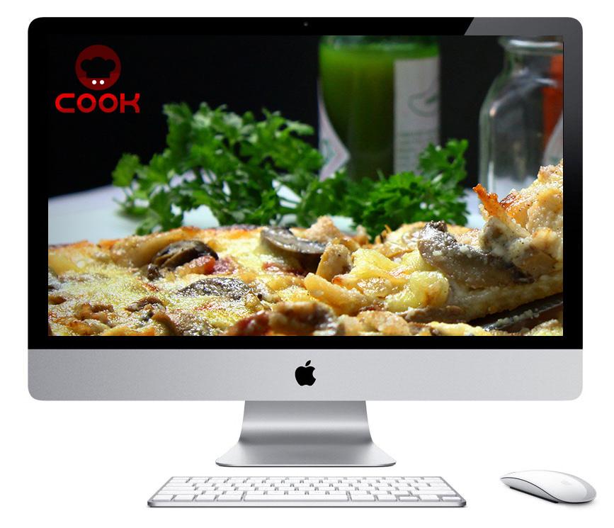Conception site web à Québec pour Cook